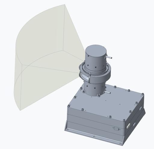 Image of the Solar Wind Plasma Sensor