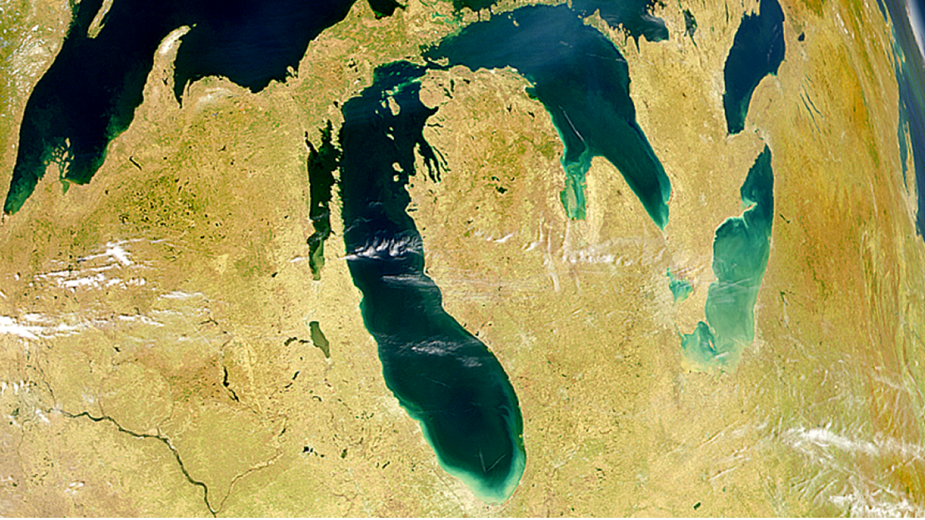 Image of the Great Lakes