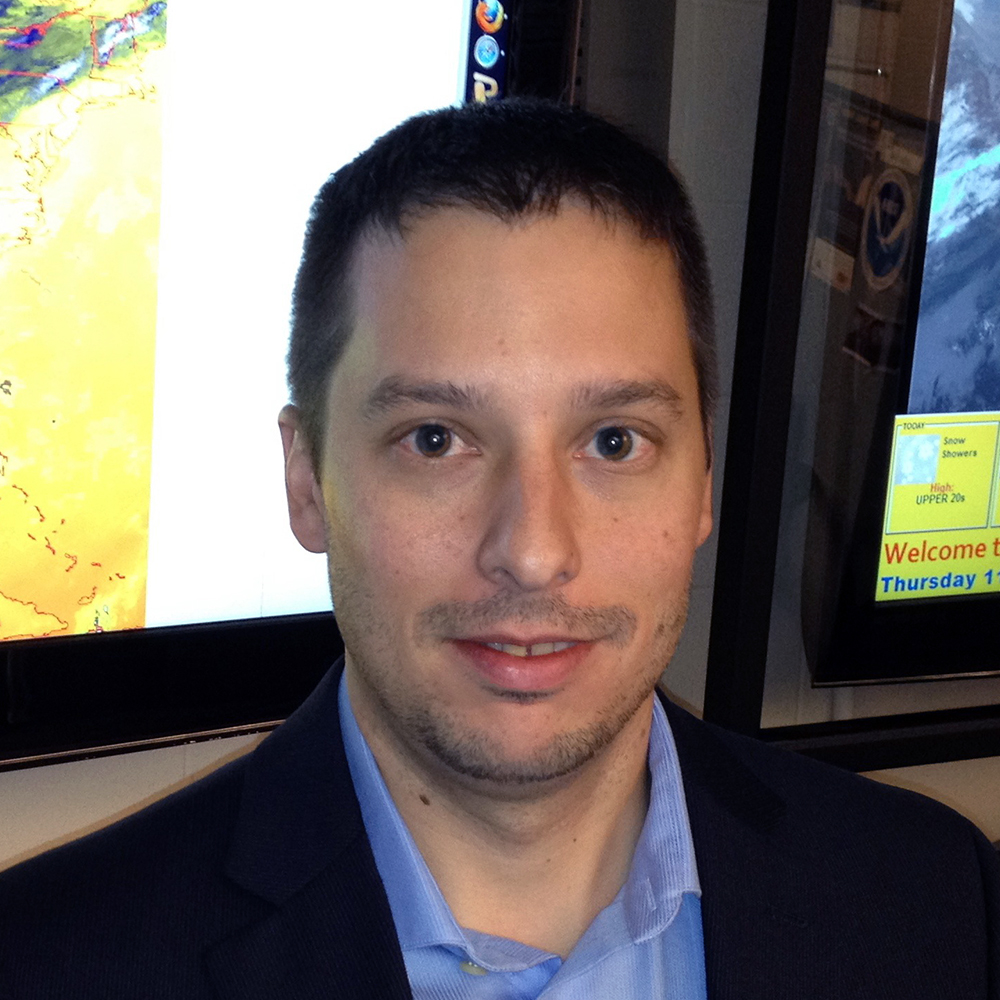 Head shot of Mike Pavolonis, Physical Scientist at NOAA/NESDIS/STAR